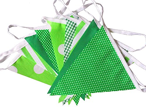 9-mtrs-30-flags-green-mix-fabric-bunting-party-banner-garland