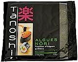 Tanoshi Feuilles d' Algues Grillées Noir 17,5 g