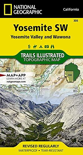 Yosemite & Wawona: National Geographic Trails Illustrated Californien (National Geographic Trails Illustrated Map, Band 306) (Map State Wa)