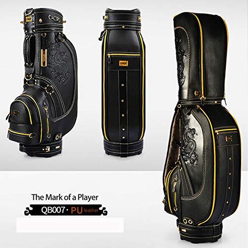 Pgm Golf Standard Bag Clubs Paket 9 Zoll 5 Loch Gepolsterte Teiler Top Drachenmuster Wasserdichte Golf Cart Bag -