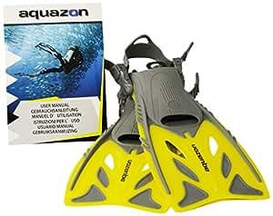 Aquazon Flossen Barracuda, Gelb, 27-31, AQFIBAYE2731