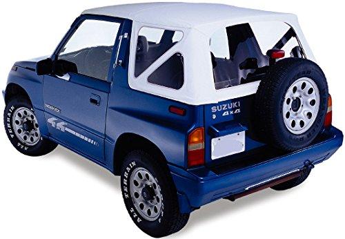 Remplacement Capote Blanc Suzuki Vitara Softtop Capote top Blanco la capota 88-04