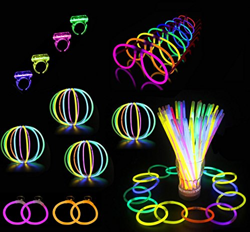 Glowz Premium Glow Stick 102 Pie...