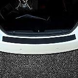 Protezione paraurti posteriore auto, protezione paraurti posteriore Protezione davanzale porta in gomma flessibile universale Previene graffi durante lo scarico e il caricamento antiscivolo (104cm)