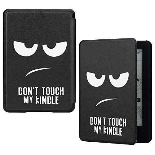 1. Diseñado exclusivamente para Amazon. Lanzamiento de Kindle 2019. (Solo apto para la versión 2019, no para otros modelos Kindle)  2. Está hecho de cuero PU de alta calidad y microfibra suave para evitar que el Kindle se raye.  3. La cubierta magnét...