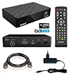Edision proton T265 Full HD Hybrid DVB-T2 Kabel-Receiver FTA HDTV DVB-C/DVB-T2 H.265 HEVC (HDMI, USB 2.0)