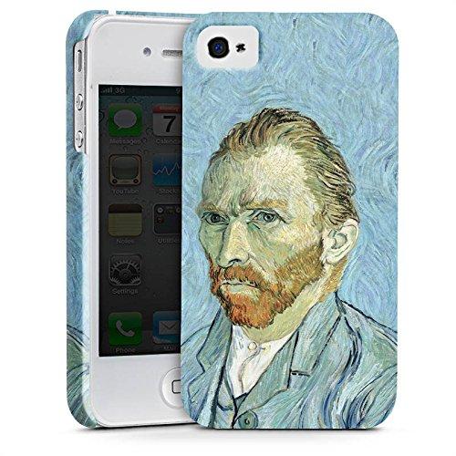 Apple iPhone X Silikon Hülle Case Schutzhülle Vincent van Gogh Selbstportrait Kunst Premium Case glänzend