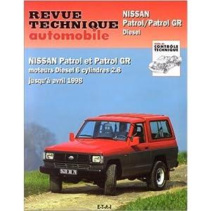 Revue technique automobile, numéro 541.2: Nissan patrol et patrol GR (89/98) de Revue technique automobile ( 10 avril 1995 )