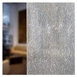 BdF 4RP Dekorative Fensterfolie Reispapier Weiß, Polyester-Mischgewebe, Weiß, 14in X 9ft