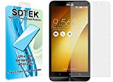 SDTEK Asus Zenfone 2 Laser ZE600KL (6 inch) Verre Trempé Protection écran Résistant aux éraflures Glass Screen Protector Vitre Tempered Protecteur