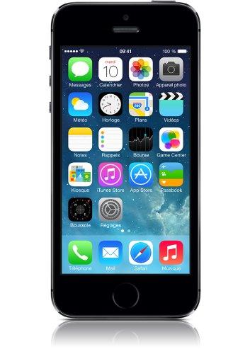 Apple iPhone 5s 4' SIM única 4G 1GB 16GB 1570mAh Gris - Smartphone (10,2 cm (4'), 16 GB, 8 MP, iOS, 7, Gris)