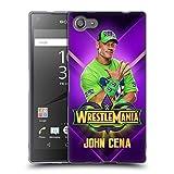 Head Case Designs Offizielle WWE John Cena Wrestlemania 34 Superstars Soft Gel Hülle für Sony Xperia Z5 Compact