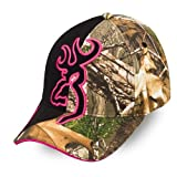 Browning Big Buckmark Cap, Camo Realtree Xtra/Fuchsia