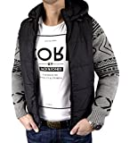 Selected by Jack & Jones Herren Jacke GREG KNIT mit abnehmbaren Ärmeln (M)