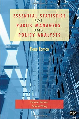 Essential Statistics for Public Managers and Policy Analysts by Evan M Berman (2011-11-22)