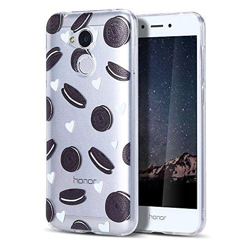 Huawei Honor 6A Hülle, CaseLover Ultradünner Transparenter Tasche Schutzhülle, Honor 6A 2017/2018 (5 Zoll) Weiche TPU Handyhülle Stoßdämpfende Schale Fall Case Shell, Oreo