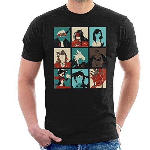 Final Fantasy 7 Pop Art Men's T-Shirt