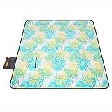 Couvertures de pique-nique Tapis extérieur de camping de pelouse de tapis de pique-nique de tapis de pique-nique imperméable 200 * 200cm ( Couleur : Leaves Style )