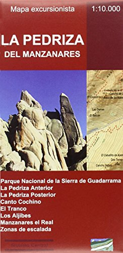 La Pedriza del Manzanares. Mapa excursionista por Alberto Álvarez Ruiz