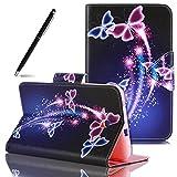 SpiritSun Etui Samsung Galaxy Tab 3 Lite 7.0' SM-T110, Housse de Protection en Cuir...