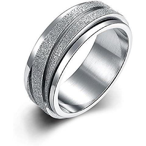 Design moderno in acciaio inossidabile coppia Anelli