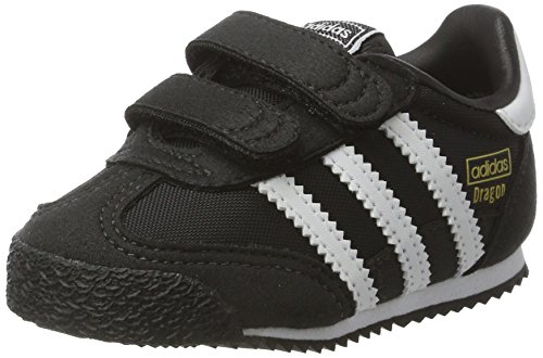 adidas Unisex Baby Dragon OG Sneaker Schwarz FTWR White/core Black, 19 EU
