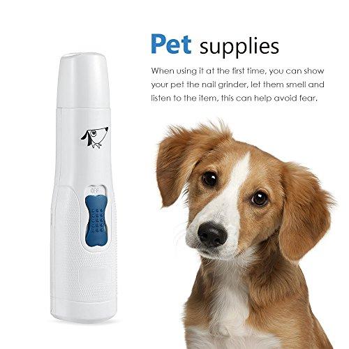 AMIR Krallenschleifer mit USB-Anschluss für Hunde - 6