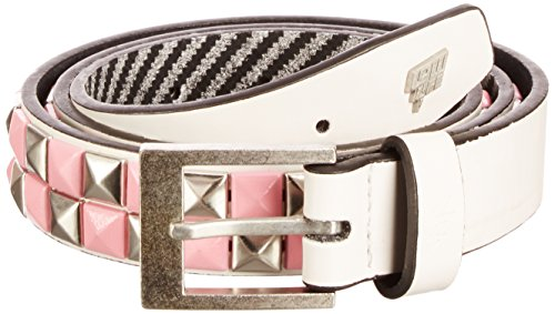 Lowlife of London Dub, Ceinture Mixte, Blanc, 52 (Taille fabricant:Large)