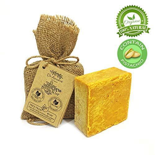 Organische natürliche vegane traditionelle handgemachte antike Bittim Seife - Anti-Schuppen, Haarausfall, antibakteriell - Keine Chemikalien, reine Naturseifen! -