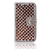 Alcatel A3 XL Case,Gift_Source [Card Slot] Luxury Bling