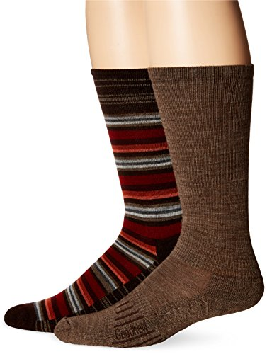 Goodhew Men's Merino Wool Value Crew Socks (2 Pack)