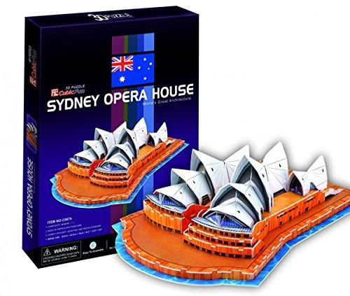 3D Puzzle - Sydney Opera House (Schwierigkeit : 4/8) - Sydney Opera House