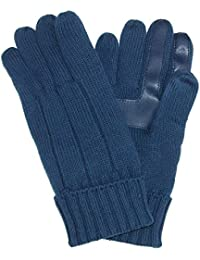 Isotoner Men's SmartDri Knit Smartouch Winter Glove