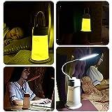 KAWELL Nachttischlampe Dimmbar LED Nachtlicht USB Aufladbar Tischlampe led batterie tischleuchte Mit Timer und Speicherfunktion Für Schlafzimmer, Schlafen, Study, Lesen, Camping, Nachtwanderung