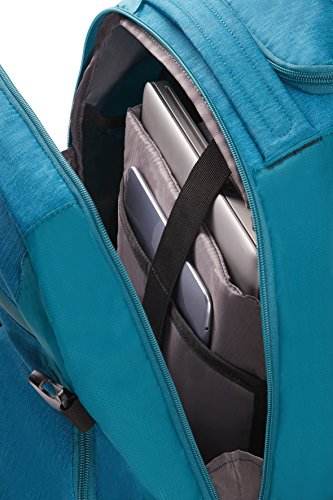 Imagen de samsonite rewind 55/20  tipo casual con ruedas, 55 cm, 32.5 l, color turquesa alternativa