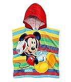 Disney Mickey Jungen Kapuzen-Handtuch - rot -