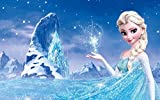 Frozen, Elsa Tortenaufleger,Rechteckig Eiskönigin A4 - Geburtstag Tortenbild...