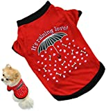Oyedens Puppy Vest T Shirt New Small Dog Cat Pet Clothes Apparel (S)