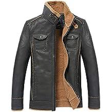 Blouson cuir vintage homme occasion