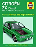 Citroen ZX Diesel (1991 to 1993) (Service and Repair Manuals) by Mark Coombs (1995-12-06)