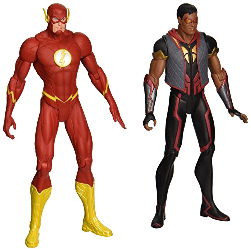 DC Collectibles DC Comics Die Neue 52 die Flash vs. Vibe Action Figur, 2er Pack