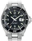 DELMA 407004 - Reloj para hombres, correa de metal color plateado