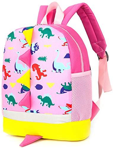 Rucksack Kindergarten Kinder Tasche Kita Mit Gurt Geschirre Drache Schule Mini Rosa GüNstig Baby