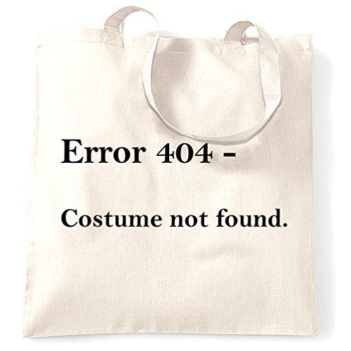 (Valentine Herty Error 404 – Kostümbeutel für Halloween-Kostüm, Einkaufstasche)