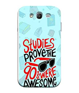 PrintVisa Designer Back Case Cover for Samsung Galaxy Grand I9082 :: Samsung Galaxy Grand Z I9082Z :: Samsung Galaxy Grand Duos I9080 I9082 (Nineties Were Awesome Design)