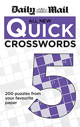 Daily Mail: All New Quick Crosswords 5 (The Daily Mail Puzzle Books) por Daily Mail