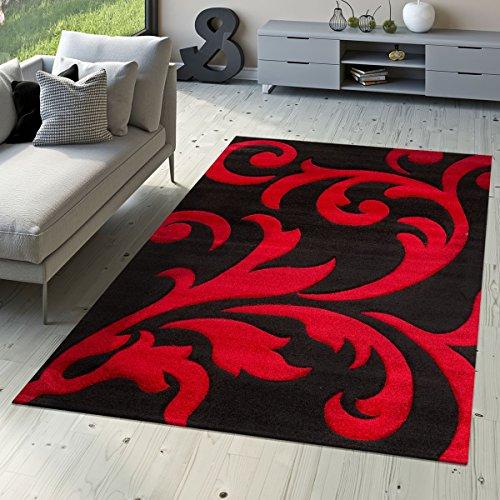 T&T Design Alfombra De Salón De Diseño Moderna Levante con Motivo Fl
