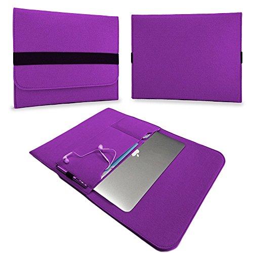 UC-Express Housse de protection en feutre pour ordinateur portable Macbook Air Violet 33,78 cm