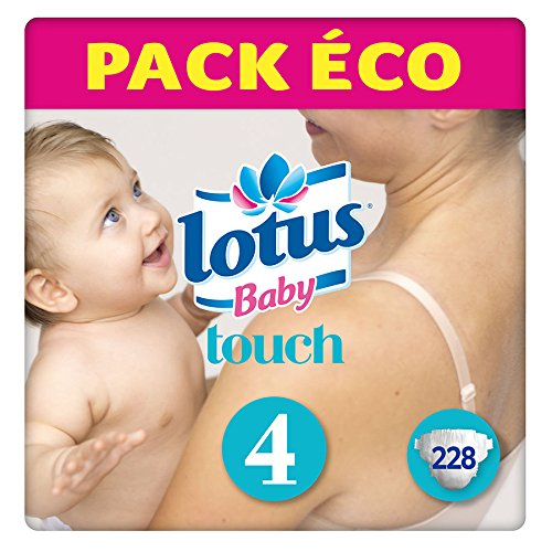Preisvergleich Produktbild lotus Baby Touch - Layer-größe 4 (7-14 kg) Value Pack (228 Lagen)