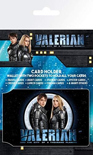1art1 117711 Valerian – Die Stadt Der Tausend Planeten - Valerian and Laureline EC-Kartenhülle Kartenetui Für Fans Und Sammler 10 x 7 cm